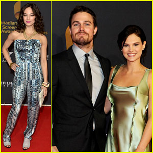 Stephen Amell & Kristin Kreuk: Canadian Screen Awards 2013!
