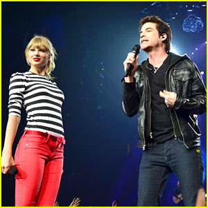 Taylor Swift: 'Drive By' with Train at Newark Concert! (Video)