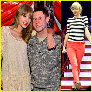 Taylor Swift: 'Everybody Talks' with Tyler Glenn in Newark!