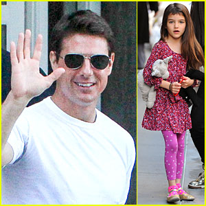 Tom Cruise Loves Brazilian Fans, Suri Shows Off New Bangs!