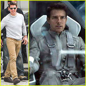 Tom Cruise: 'Oblivion' Stills Released!