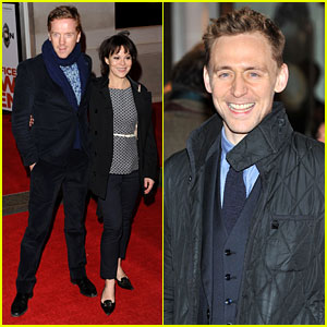 Tom Hiddleston & Damian Lewis: 'Book of Mormon' in London!