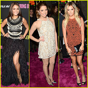 Vanessa Hudgens & Ashley Benson: 'Spring Breakers' Hollywood Premiere!
