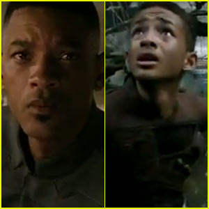 Jaden & Will Smith: New 'After Earth' Trailer!