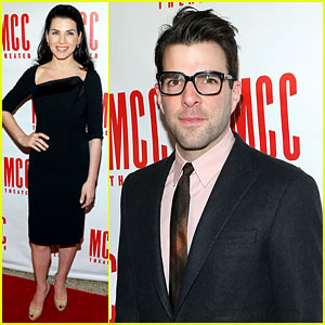 Zachary Quinto & Julianna Margulies: MCC's Miscast 2013!