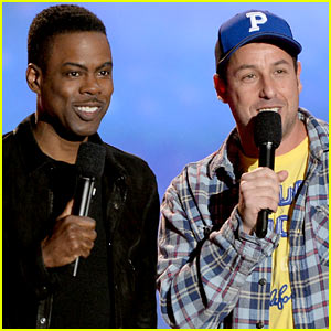 Adam Sandler & Chris Rock - MTV Movie Awards 2013