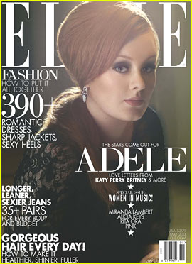 Adele Covers Elle's Women in Music Issue May 2013