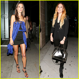 Alessandra Ambrosio & Rumer Willis: Nomad 2 World!