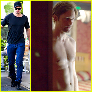 Alexander Skarsgard: Shirtless in New 'Disconnect' Still!