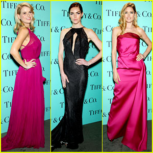 Alice Eve & Doutzen Kroes: Tiffany Blue Book Gala! | Alice Eve, Cato