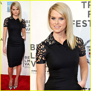 Alice Eve: 'Some Velvet Morning' Tribeca Premiere!
