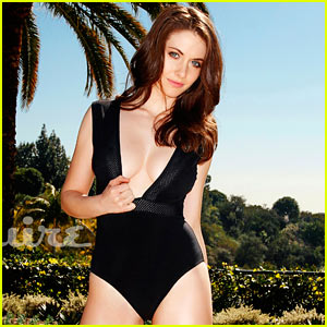 Alison Brie: Bathing Suit Babe for 'Esquire'!