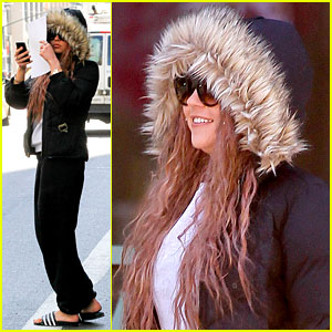 Amanda Bynes: Birthday Smiles in New York City!