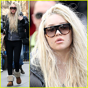 Amanda Bynes: Back to Blonde Hair!
