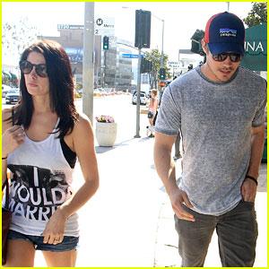 Ashley Greene & Josh Henderson: Sunset Plaza Pair!