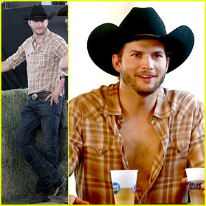 Ashton Kutcher Returns to Stagecoach Festival After Fight