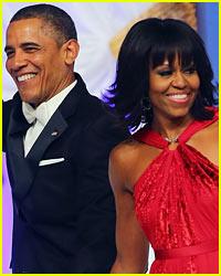 Barack Obama Rocks Michelle Obama's Bangs!