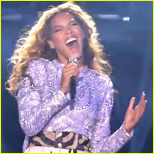 Beyonce's 'Mrs. Carter World Tour' Show Footage - Watch Now!