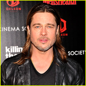 Brad Pitt to Star in WWII Drama 'Fury'!