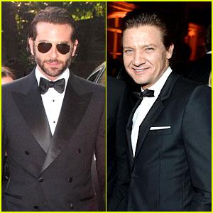 Bradley Cooper & Jeremy Renner - White House Correspondents' Dinner 2013