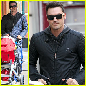 Brian Austin Green: Megan Fox's 'Turtles' Filming in Jones Beach!