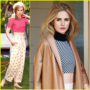 Brit Marling Bares Tummy for 'Glamour' Feature!