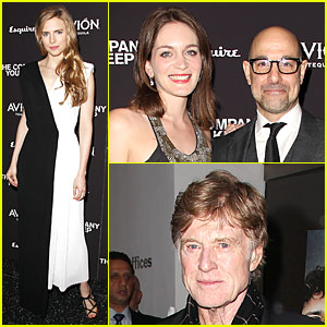 Brit Marling & Stanley Tucci: 'The Company You Keep' New York Premiere!