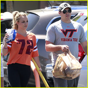 Britney Spears & David Lucado: Grocery Shoppers!