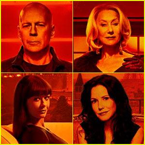 Bruce Willis & Helen Mirren: 'Red 2' Trailer & Character Posters!
