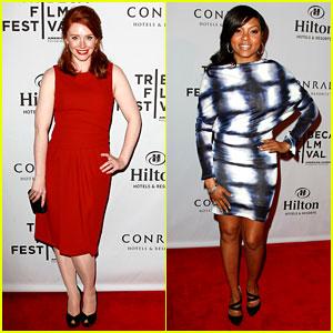 Bryce Dallas Howard & Taraji P. Henson: Tribeca Awards!