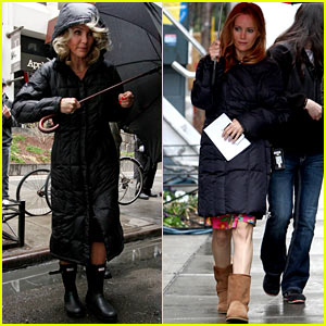 Cameron Diaz: Rainy 'Other Woman' Set with Leslie Mann!