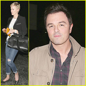 Charlize Theron: Matsuhisa Dinner with Seth MacFarlane!