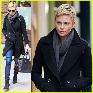 Charlize Theron: Union Square Lunch!