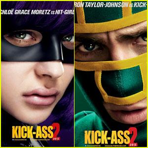 Chloe Moretz & Aaron Taylor-Johnson: 'Kick-Ass 2' Posters!