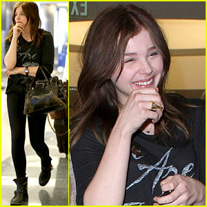 Chloe Moretz: 'Dark Places' Star with Charlize Theron?
