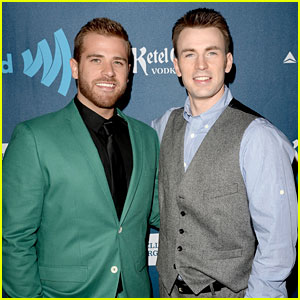Chris Evans: GLAAD Media Awards 2013 with Brother Scott!