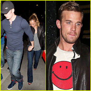 Chris Evans & Minka Kelly: Jessica Alba Birthday Party with Cam Gigandet!