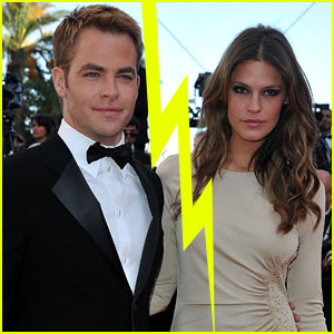 Chris Pine & Dominique Piek Split?