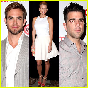 Chris Pine & Zachary Quinto: 'Star Trek' at CinemaCon 2013!