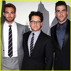 Chris Pine & Zachary Quinto: 'Star Trek Into Darkness' Sydney Premiere