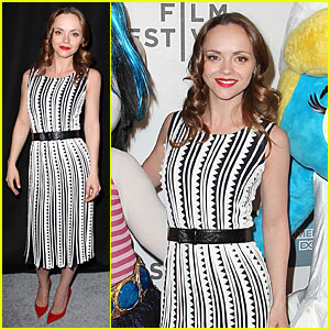Christina Ricci: 'The Smurfs' Tribeca Screening!