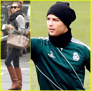Cristiano Ronaldo & Irina Shayk Step Out After Cheating Rumors