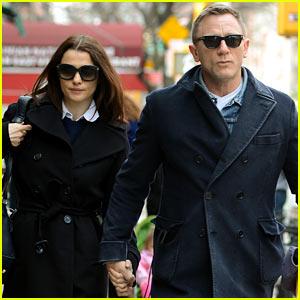 Daniel Craig & Rachel Weisz Hold Hands After 'Betrayal' News!