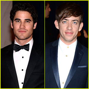 Darren Criss & Kevin McHale - White House Correspondents' Dinner 2013