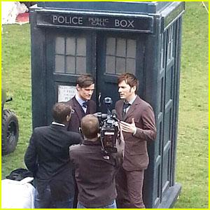 Matt Smith & David Tennant: Doctor Who's Unite!