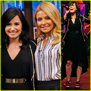 Demi Lovato: 'Heart Attack' Performance on 'Live!' - Watch Now!