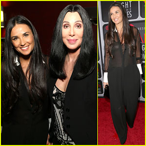 Demi Moore & Cher: AFI's Night at the Movies Event!