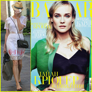 Diane Kruger Covers 'Harper's Bazaar Russia' May 2013