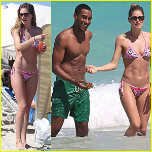 Doutzen Kroes: Bikini Photo Shoot with Shirtless Sunnery James!