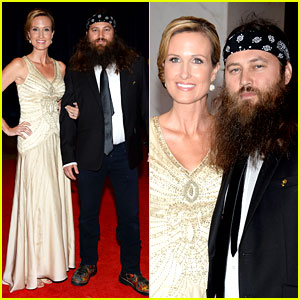 Dinner, Duck Dynasty, Korie Robertson, Willie Robertson : Just Jared